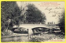 cpa La Cerdagne BOURG MADAME (Pyrénées Orientales) PONT FRONTIÈRE sur La RAOUR