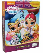 Shimmer And Shine Book and 12 Figures Plus Play Mat  Nickelodeon