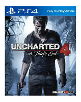 Uncharted 4 PS4 A Thief's End PS4 - Excellent -1st Class FAST & FREE Delivery