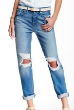 Womens The 1984 Boyfriend Straight Jeans 7 For All Mankind NZh07qE
