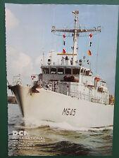 9/1992 PUB DCN MARINE NATIONALE CONSTRUCTION NAVALE SHIPBUILDING ORIGINAL AD
