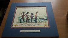 More details for vintage military sketch - 3rd regiment foot guards -2nd battalion malaya 1948