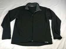 Salomon Men's Sz XL Advanced Skin Soft Shell Jacket Black Nylon Spandex $162
