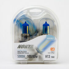 Nokya Cosmic White H13 9008 5000K 55W S2 Headlight Halogen Light Bulb NOK8027