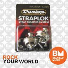 Jim Dunlop Dual Straplock Nickel J103N Strap Lock StrapLok Strap Lock Lok