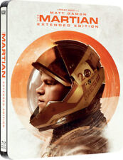 The Martian Steelbook Bluray Extended UK Edition Region Free New & Sealed
