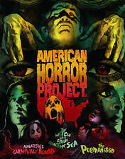 American Horror Project: Volume 1 (Blu-ray / DVD, 6-Disc Set, Arrow Video)