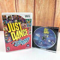 Just Dance: Disney Party 1 & 2 Bundle Nintendo Wii 2 Game Lot