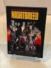 Nightbreed (snap case DVD) Rare OOP 1990 Clive Barker Fantasy Horror 80s/90s