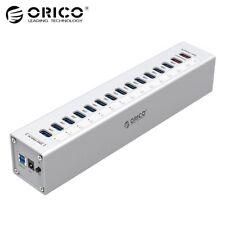 ORICO A3H13P2 Aluminum 13 Ports Multi USB3.0 HUB Splitter with 2 Charging Ports