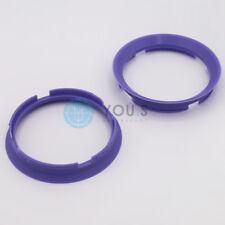 2 x Centering Ring Distance Alloy Wheels z29d 76,9 - 70,1 mm Brock, Keskin - NEW