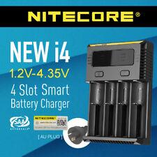 Nitecore new i4 4-Slot Intelligent Battery Charger Li-ion 18650 RCR123a 26650