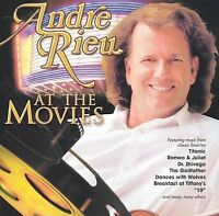 Andre Rieu - At The Movies Used - Acceptable [ Audio CD ] Andre Rieu