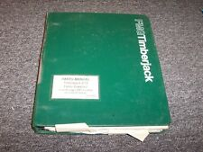 Timberjack 618 Feller Buncher Harvester Original Parts Catalog Manual 214-1626-1
