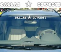 "🔥 🔥 Dallas Cowboys 19"" Vinyl Car Truck DECAL Window STICKER NFL Football"