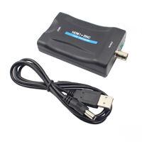 HDMI TO BNC Composite video signal Converter Adapter VHS DVD Player PAL/NTSC