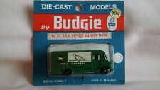 BUDGIE VINTAGE  VERY RARE CARDED No 57 R.E.A.EXPRESS DELIVERY TRUCK,NEAR MINT.