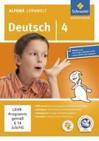 Alfons Lernwelt Lernsoftware Deutsch 4. DVR-ROM [Schroedel Verlag GmbH]