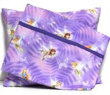 Tinkerbell Toddler Pillow & Toddler Pillowcase Purple Cotton #TB11 New Handmade