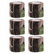 6x Camo Fabric Tape Flashlight Torches Wrap 7.2ft Camo  Tape Webbing Tape