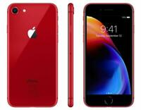 New Overstock Apple iPhone 8 - 64 GB Red Unlocked for Verizon ATT and T-Mobile