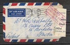 AUSTRALIA Air Mail Crash Cover 13-3-1954 AUSTRALIA to SINGAPORE VF AND RARE.