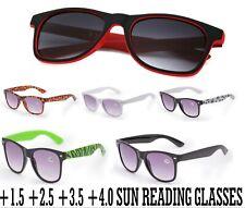 Unisex Sun Readers +1.0 +1.5 +2.5 +3.0 READING SUNGLASSES GLASSES HOLIDAY