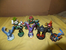LOT OF 10 SKYLANDER FIGURES