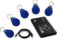 RFID 125Khz EM4305 T5567 Card Reader/Writer Copier/Writer programmer + 5 Tags