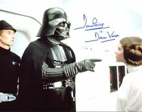 """David Prowse Star Wars """"Darth Vader"""" Authentic Signed 11X14 Photo BAS 8"""