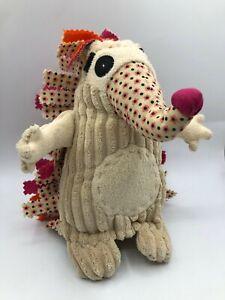 Original Les Deglingos Pikos The Hedgehog Plush Kids Soft Stuffed Toy Animal