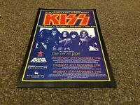 """(BEBK57) ADVERT/POSTER 11X8"""" KISS & THE VERVE PIPE ALIVE/WORLDWIDE 1996-97"""