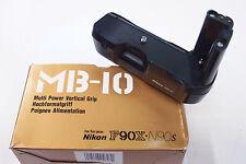 Nikon Originale Impugnatura mb-10 per Nikon f90 f90x usato in scatola originale mb10