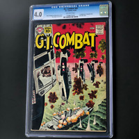 G.I. COMBAT #87 (DC 1961) 💥 CGC 4.0 OW PGs 💥 1ST APP OF THE HAUNTED TANK!