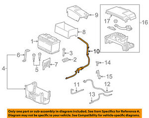 GM OEM-Battery Cable 26679373