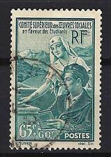 France 1938 Oeuvres sociales Yvert n° 417 oblitéré 1er choix (1)