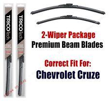 Wiper Blades 2-Pack Premium Wiper Blades - fit 2016+ Chevrolet Cruze - 19280/240