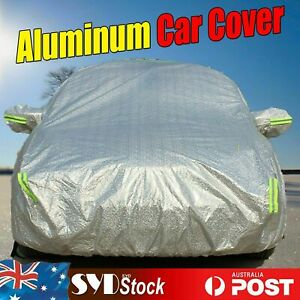 For Ford Falcon FG Sedan Aluminum Soft Car Cover 3XXL anti-UV Dirt Water Scratch
