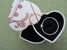 PANDORA Heart Clasp Bracelet & HEART SHAPE LEATHER,2-TIERED JEWELRY BOX,GIFT BAG