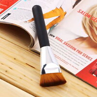 Professional 163 Flat Contour Brush Face Cheeks Blend Makeup Cosmetic Brusher Kw