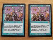 Magic The Gathering Cards - Mercadian Masques - Misdirection x 2
