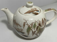 """Vintage Japan Musical Teapot """"Tea for Two"""" Plays Music Works Great"""