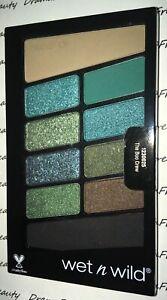 Wet N Wild HALLOWEEN ColorIcon 10Pan Eyeshadow Palette *THE BOO CREW* Blue/Green