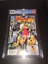 Harley Quinn #9 CGC 9.8 Newsstand Variant Killer Croc Bud and Lou 2001 Vol 1