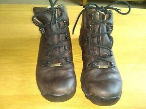 Brasher supalite GTX leather woman's walking boots uk4 goretex