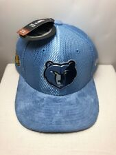 Memphis Grizzlies Light Blue NBA On-Court Original Fit 9FIFTY SNAPBACK Hat OSFM