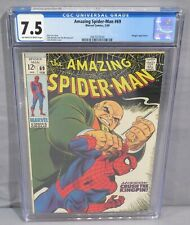 THE AMAZING SPIDER-MAN #69 (Kingpin appearance) CGC 7.5 VF- Marvel Comics 1969