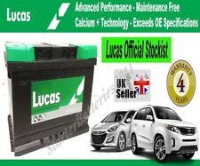 FORD Car & Van OEM Calcium Silver Battery TYPE 100 - Lucas LP100 - 12V 72AH 680A