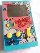 Vintage Casio Penguin Junior CG 82 Handheld LCD Vintage Video Game Watch