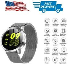 Smart Watch Bracelet with Weather Pedometer Call Text Email Social Notifications